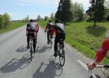 Att cykla i klunga