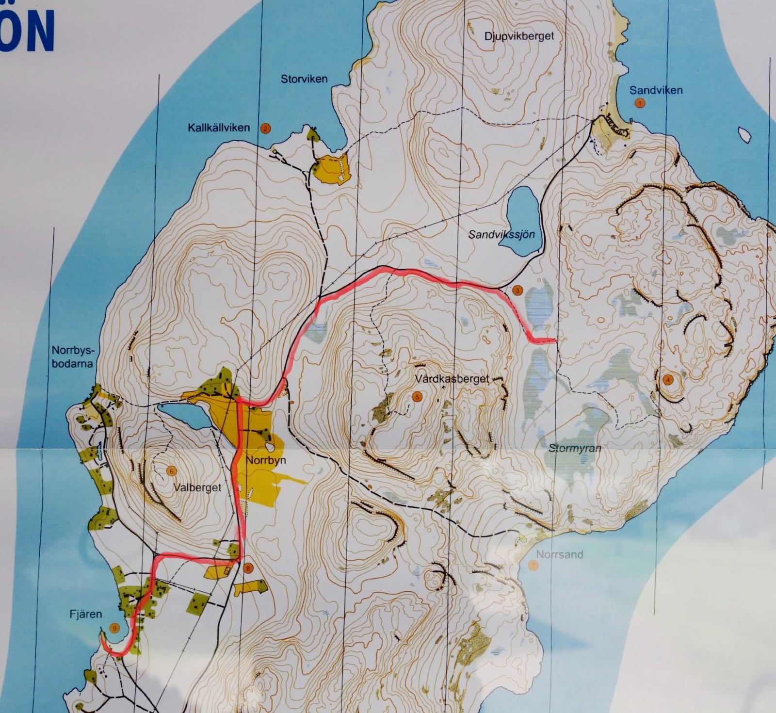 Ulvön karta-1