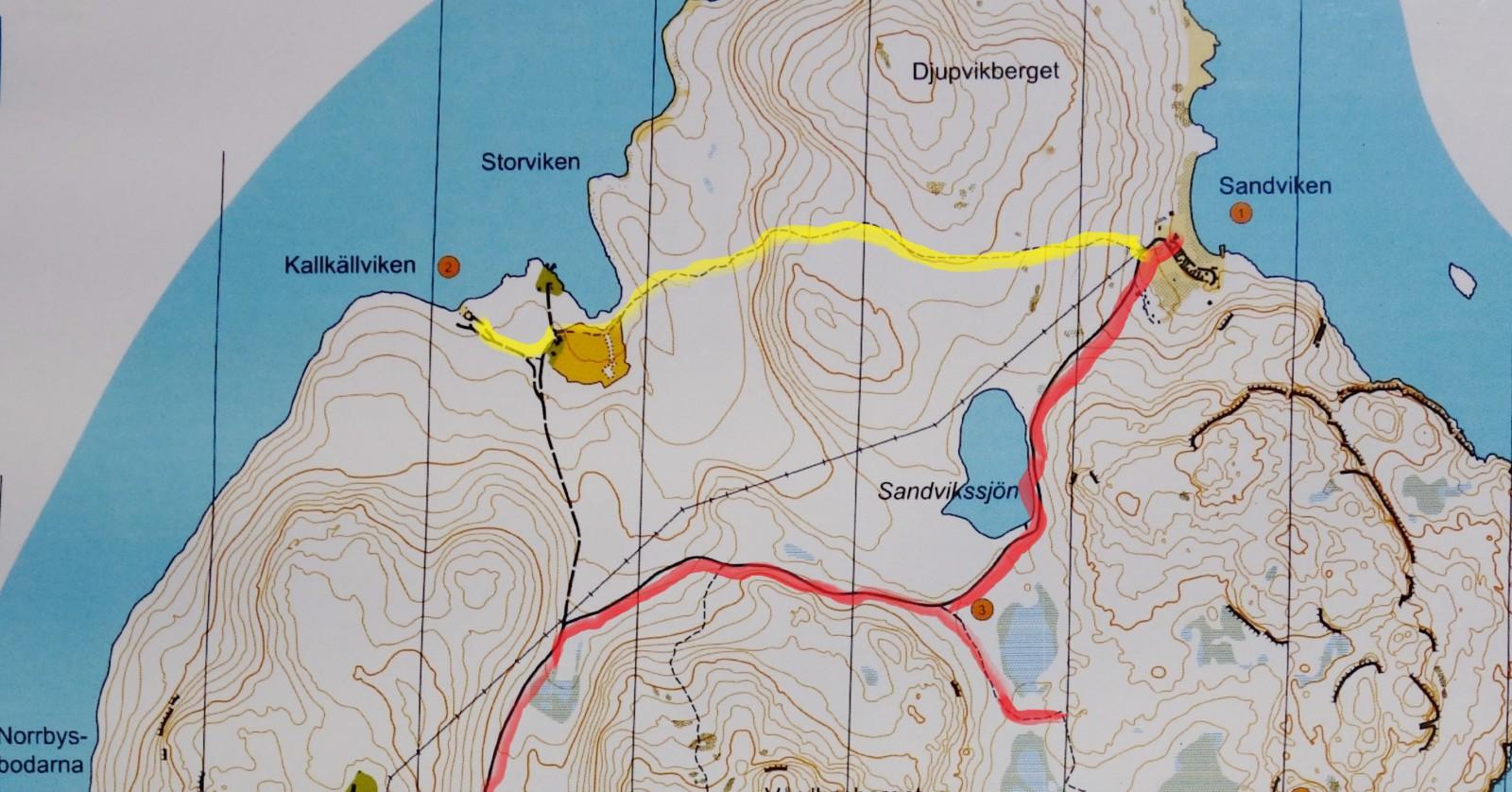 Ulvön karta-3