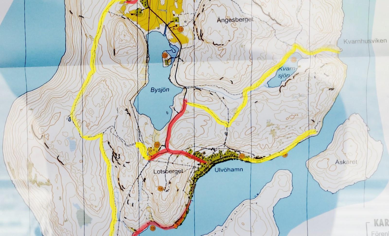 Ulvön karta-6
