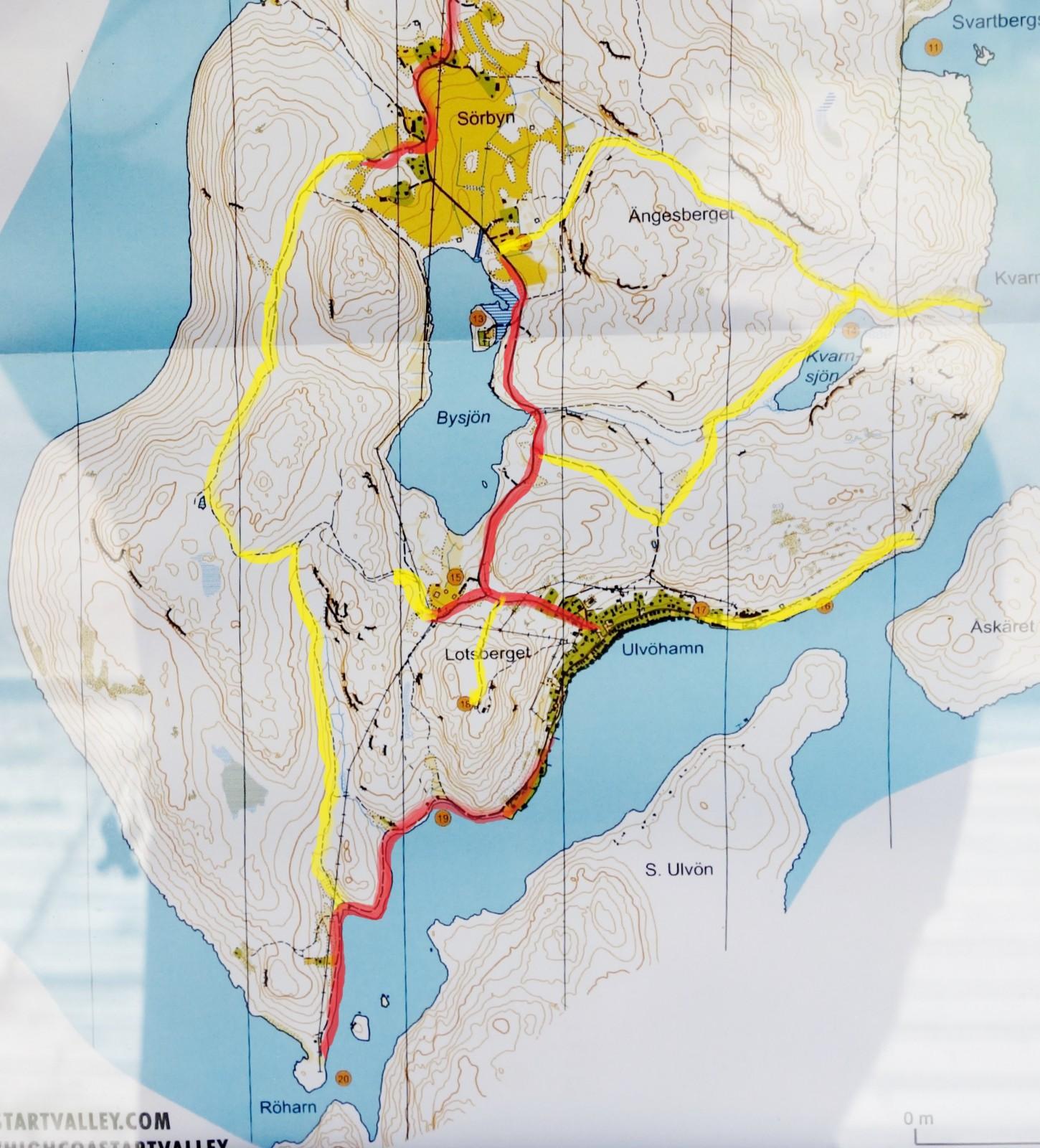 Ulvön karta-7