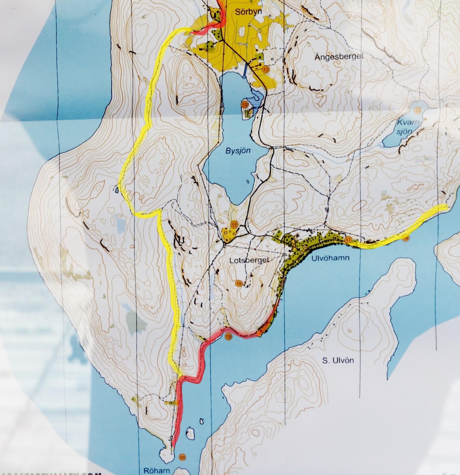 ulvön karta Ulvön – en cykelpärla | CK Örnen ulvön karta
